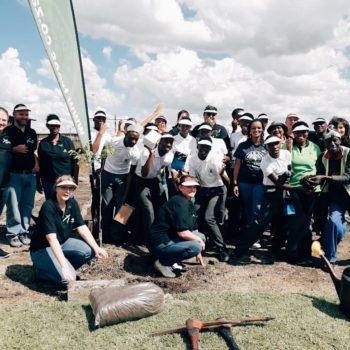 Konica Minolta South Africa Plants More Trees!