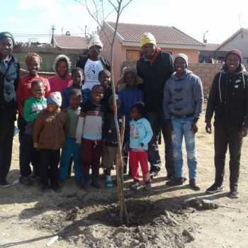 Youth Month Tree Planting with DAFF and Ekhuruleni Municipality