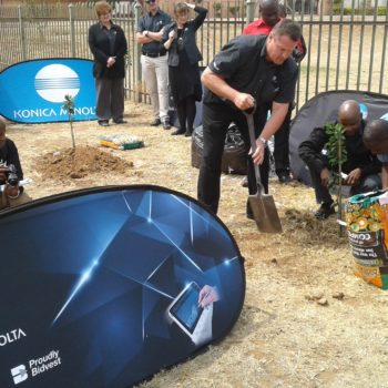 Konica Minolta Greening South Africa This Arbor Month