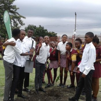 Planting 1,071 Trees During the 'Month of Love'
