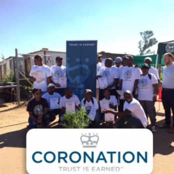 Coronation Fund Managers Greening Mamelodi