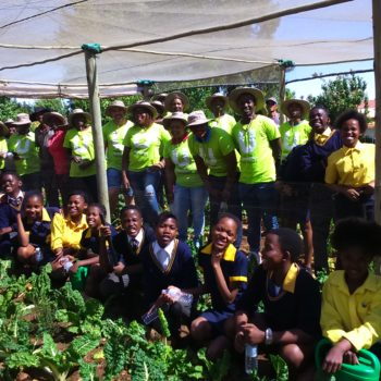 Woolies Employees Turn the Soil At Local Schools with EduPlant