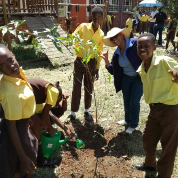 Breaking Ground on Food & Trees for Africa's First Food Forest