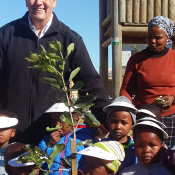 Planting a Growing Legacy in Mandela's Footsteps