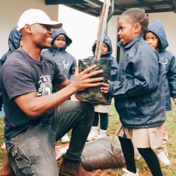 Protea Glen Greening Kicks Off at SPARK School in Soweto