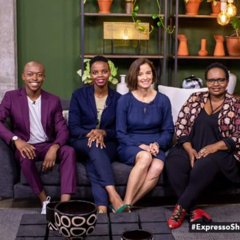 Tshepiso Senetla appears on the Expresso Breakfast Show