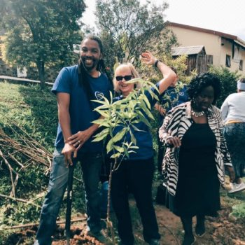 Planting Fruit and Indigenous Shade Trees with CHEP