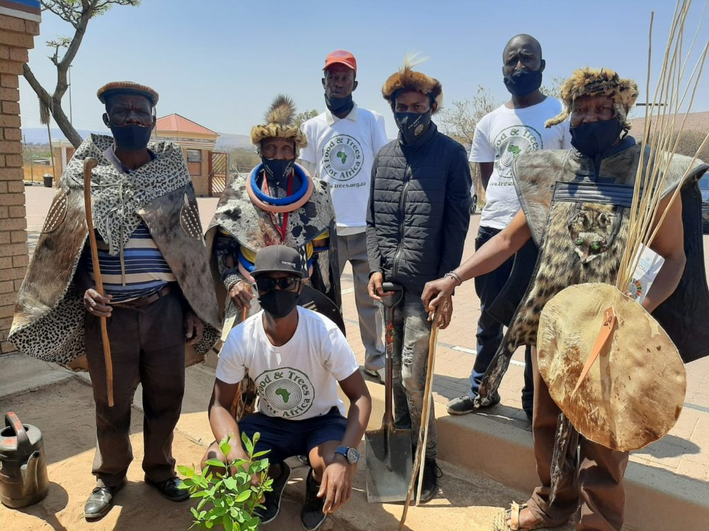 FTFA Fortress Heritage Day tree planting